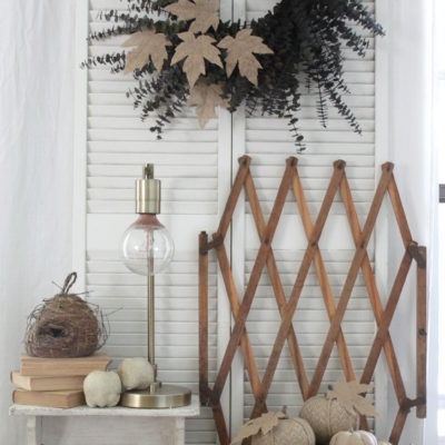 My Fall Entryway