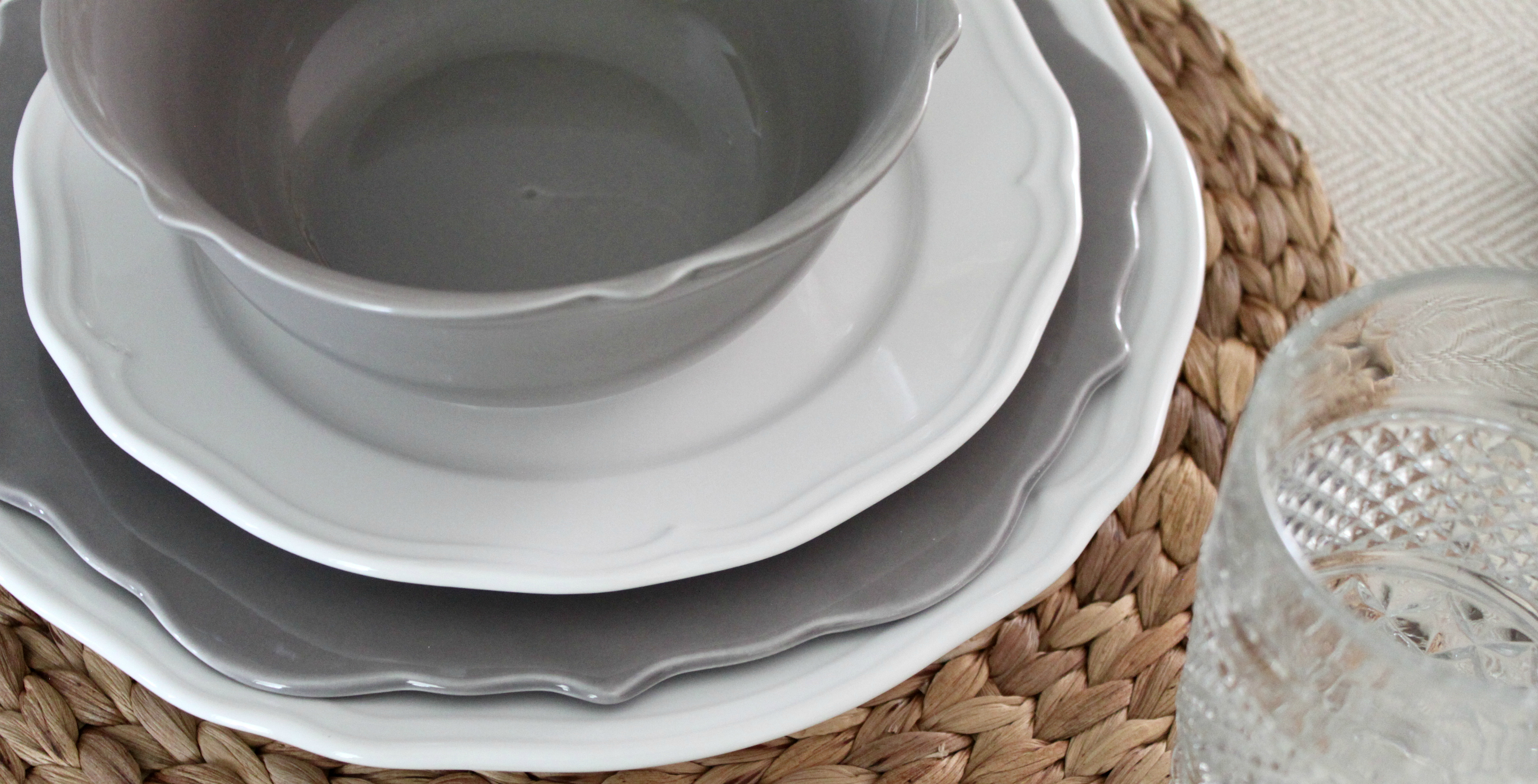 ikea-dishes-placemat-target & How I Decorate with IKEA Decor | An Inspired Nest