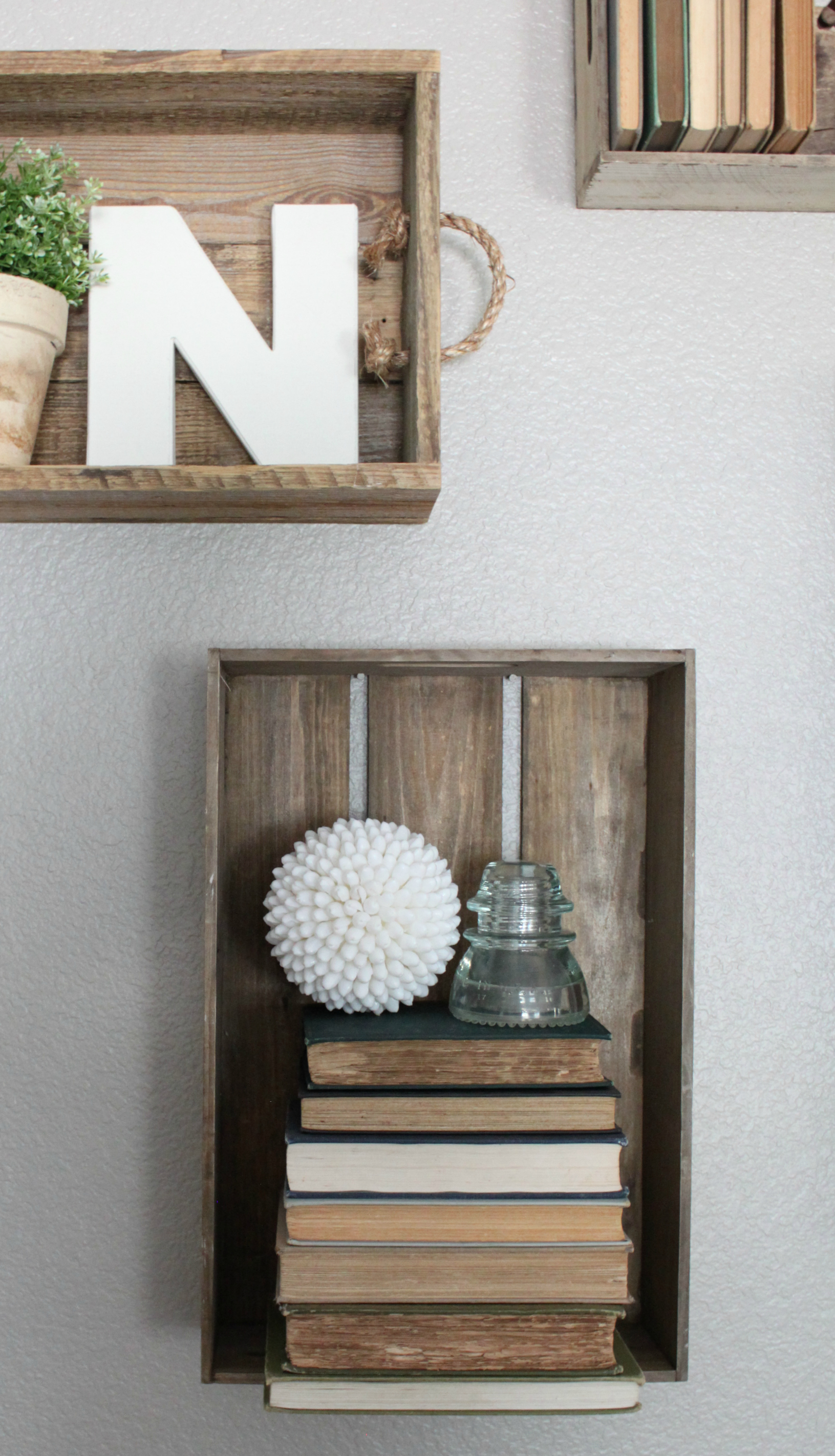 Simple Ways to Decorate with Vintage Books by An Inspired Nest