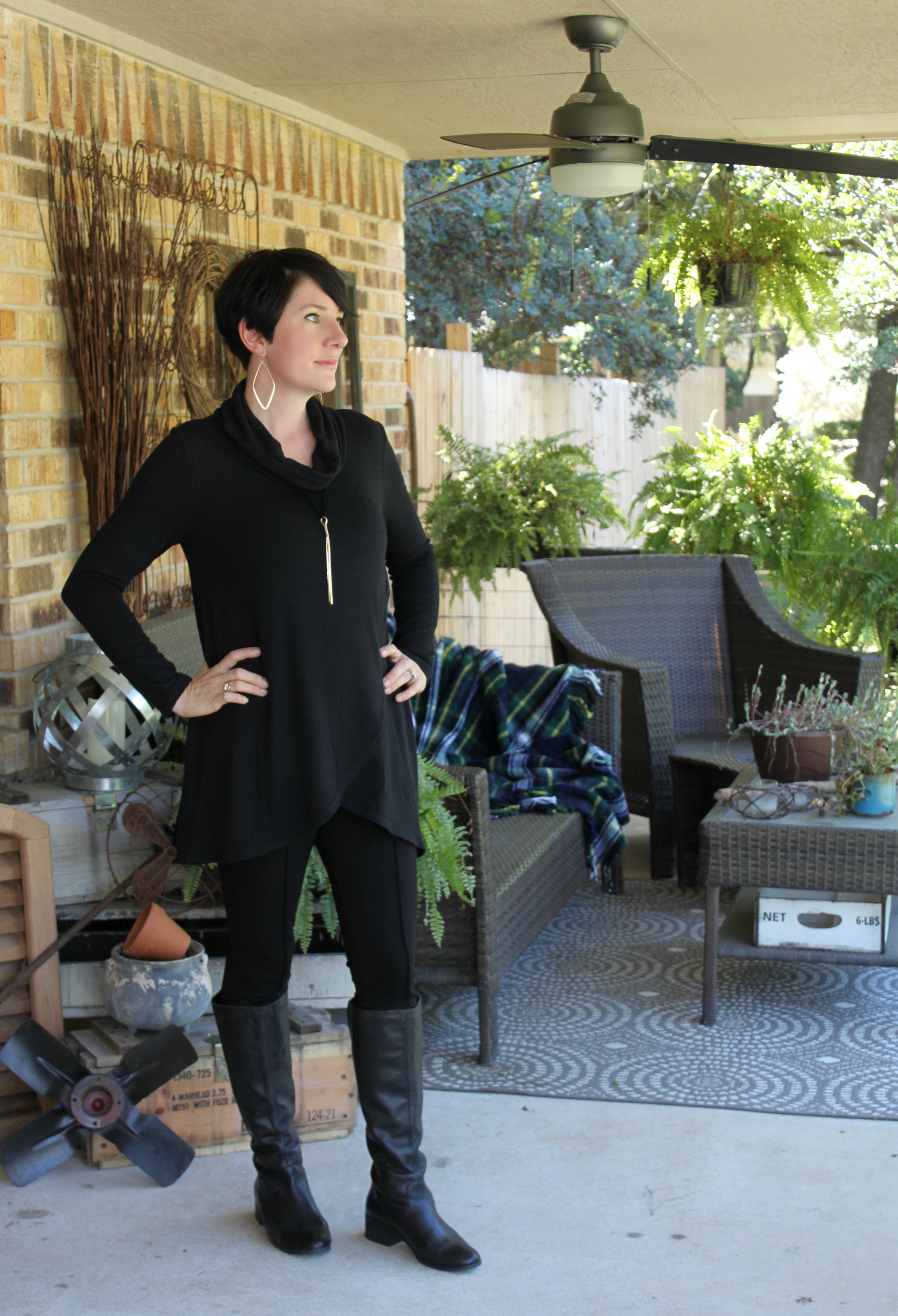 Sunday Style: One Black Tunic Styled Six Ways