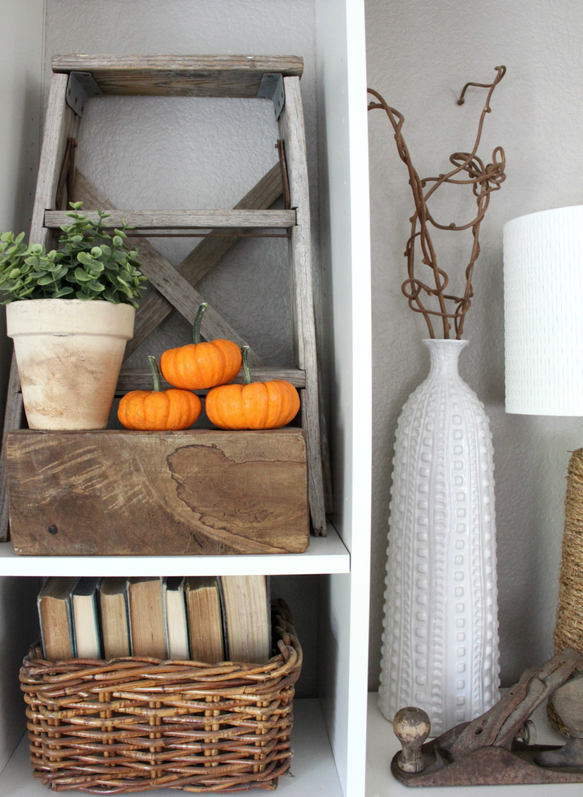 My Fall Family Room by An Inspired Nest
