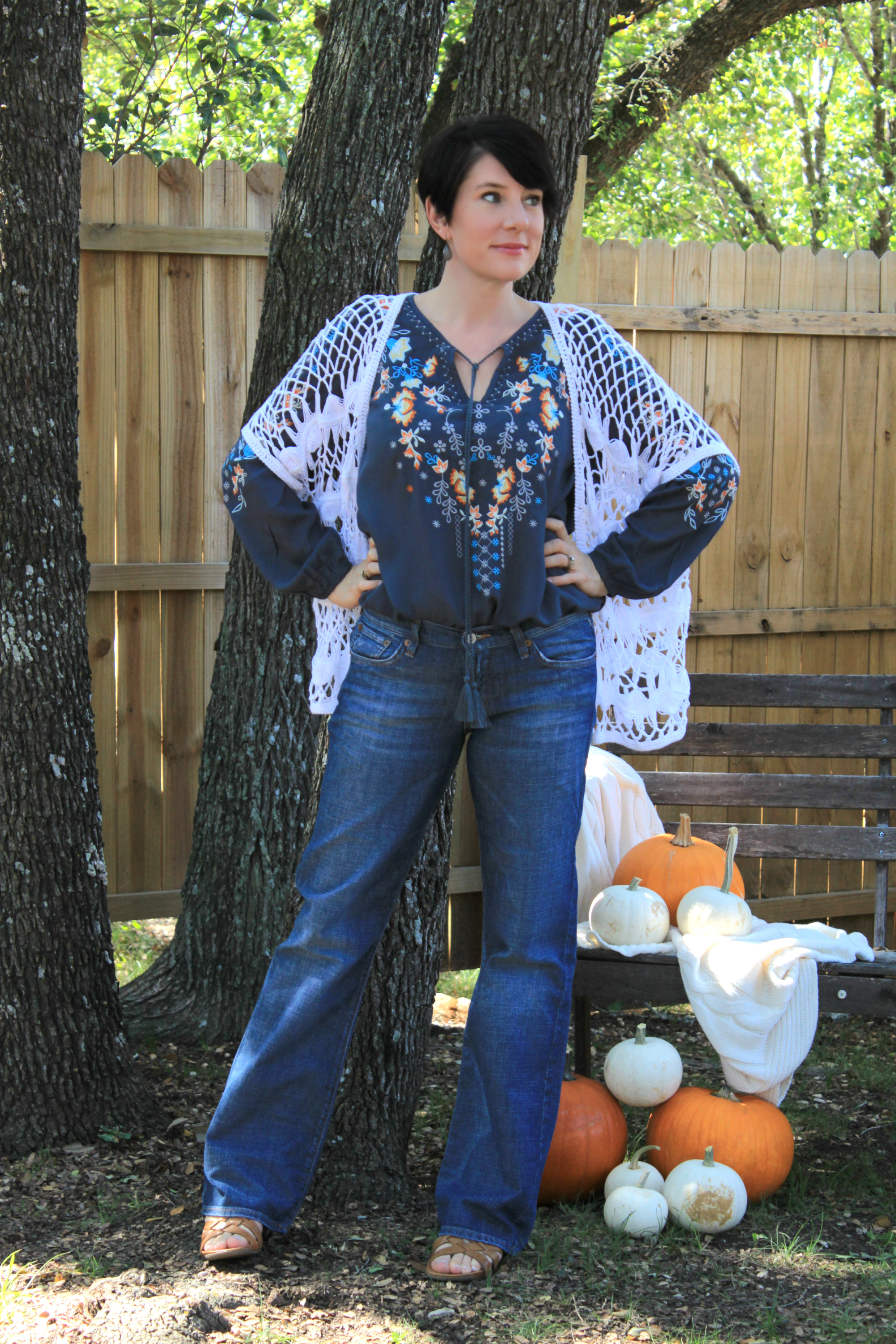 Sunday Style: Flowy, Floral, and Feminine Peasant Top by An Inspired Nest