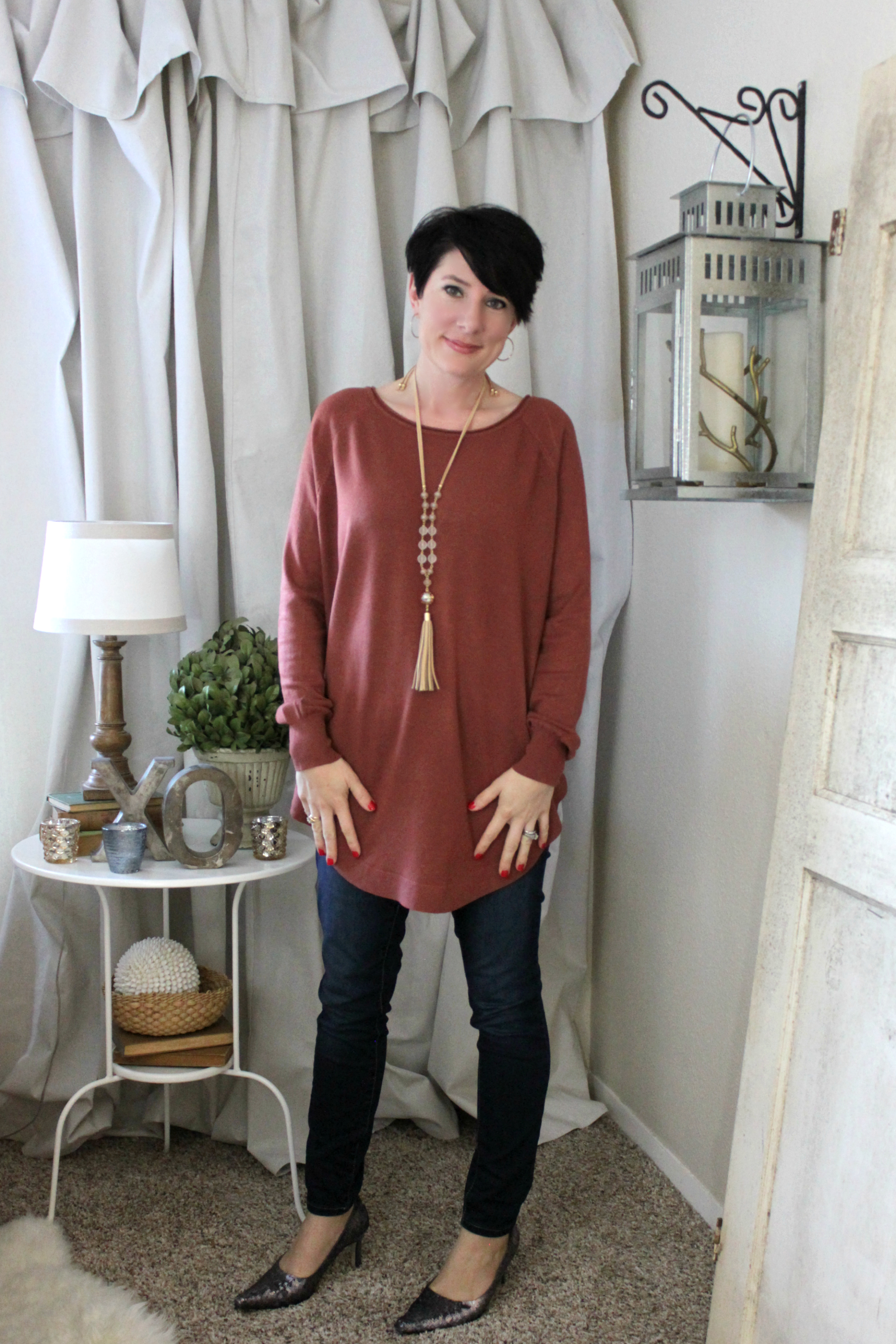 Sunday Style: Cider By The Fireside Sweater Tunic | An Inspired Nest