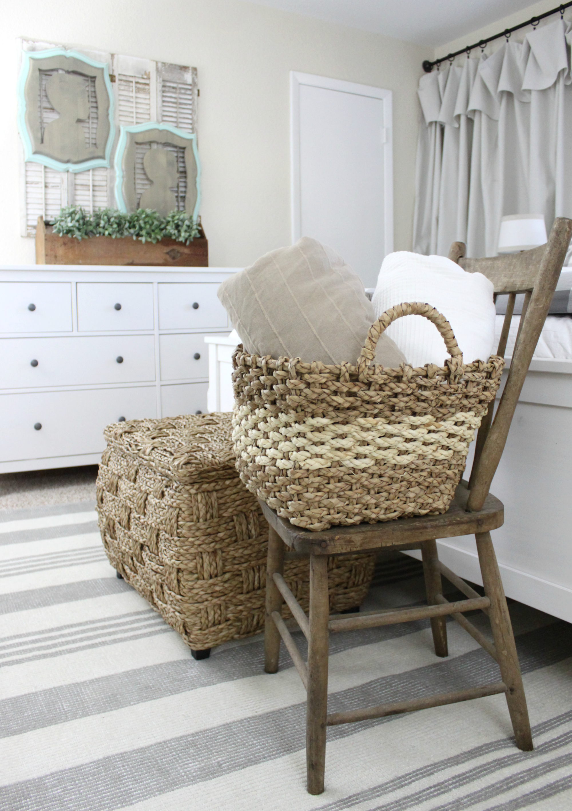 bedroom rug makeover | an inspired nest