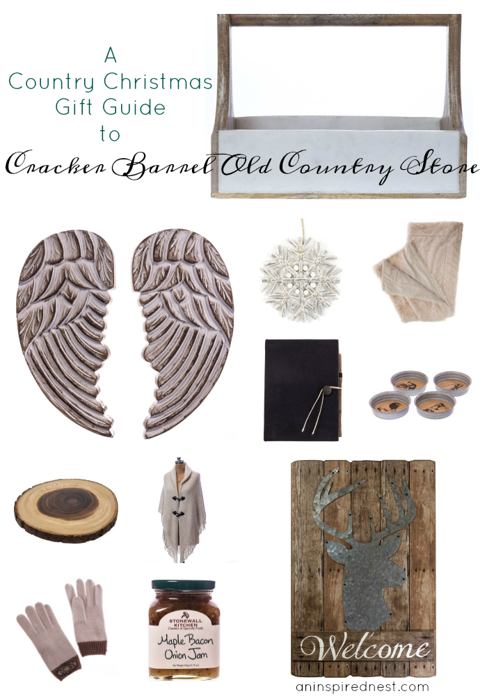 A christmas gift guide to cracker barrel old country store Country christmas gifts to make
