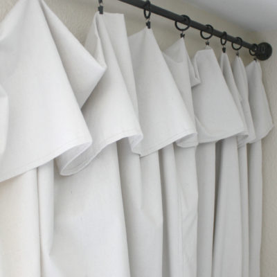 The Easiest Curtains You'll Ever Hang