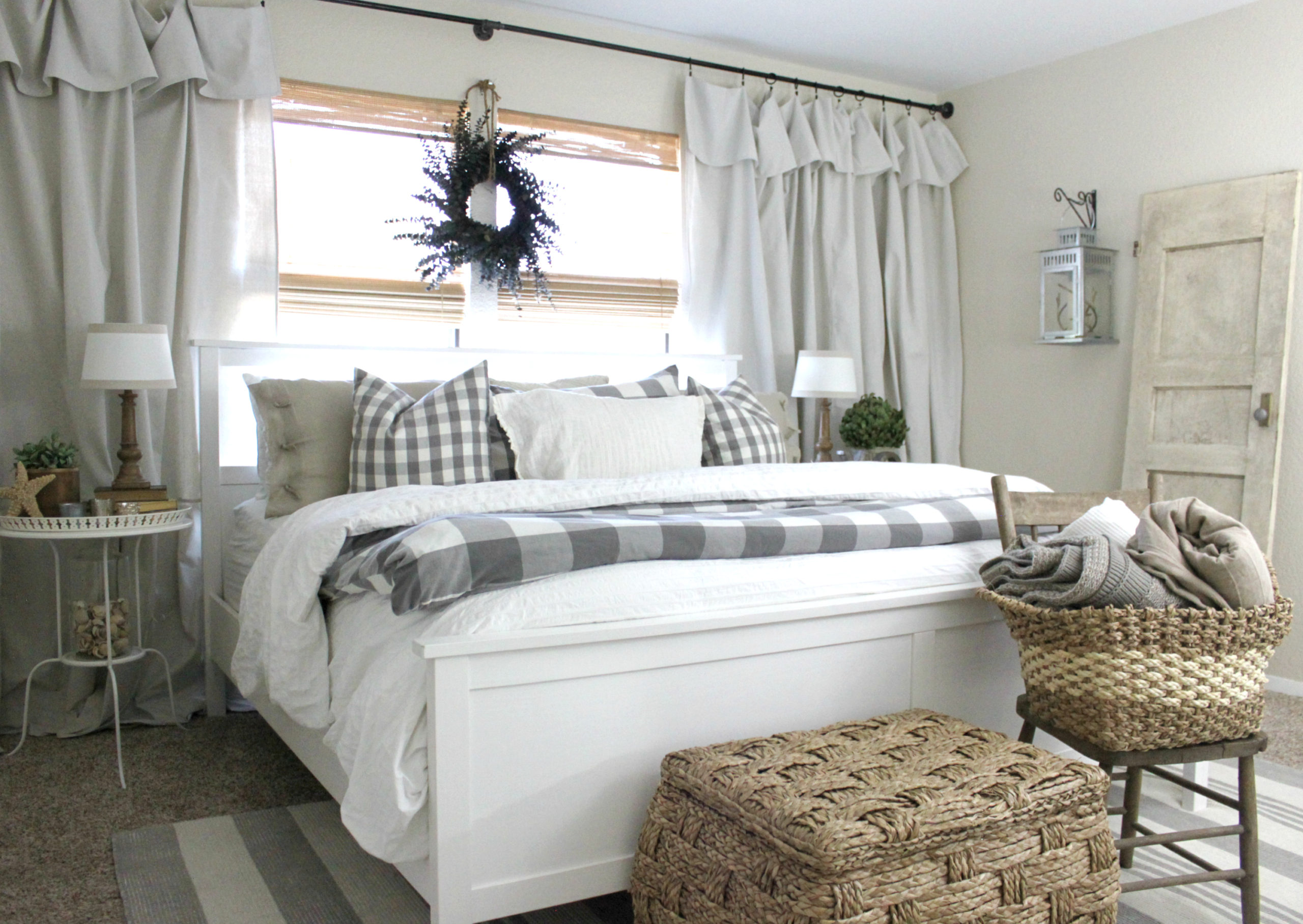The Easiest Curtains You Ll Ever Hang An Inspired Nest