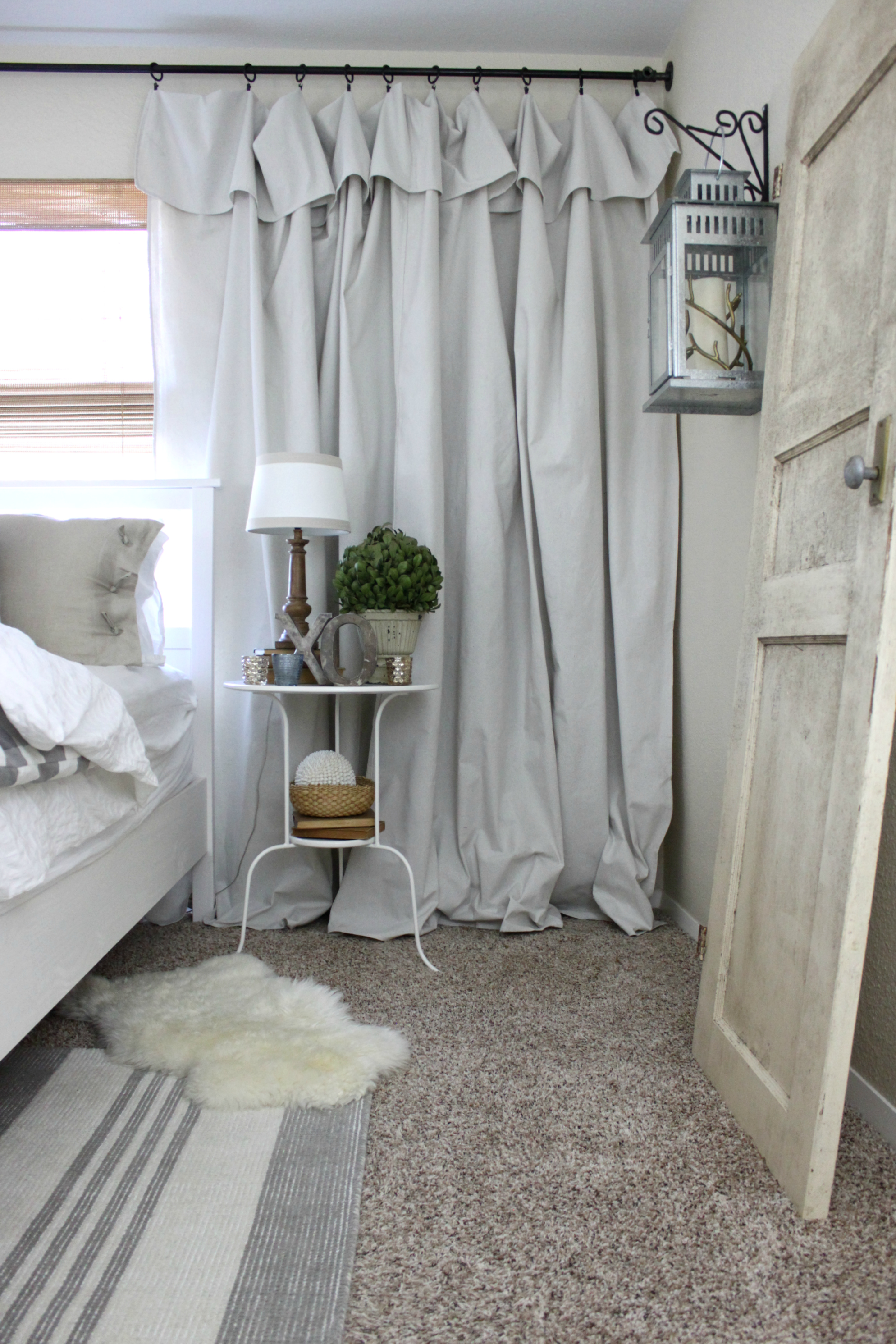 The Easiest Curtains You'll Ever Hang by An Inspired Nest